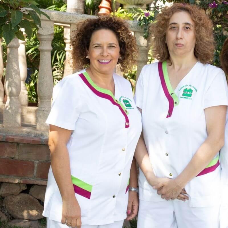 Maria Auxiliadora Gonzalez y Yolanda Albarracin